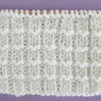 Pique Stitch Knitting Pattern and Video Tutorial