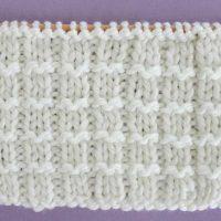 Pique Rib Stitch Printable Knitting Pattern