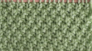 Irish Moss Stitch Knitting Pattern