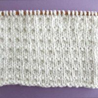 Andalusian Stitch Printable Knitting Pattern