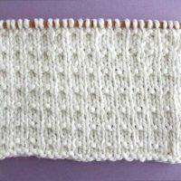 Andalusian Stitch Printable Knitting Pattern