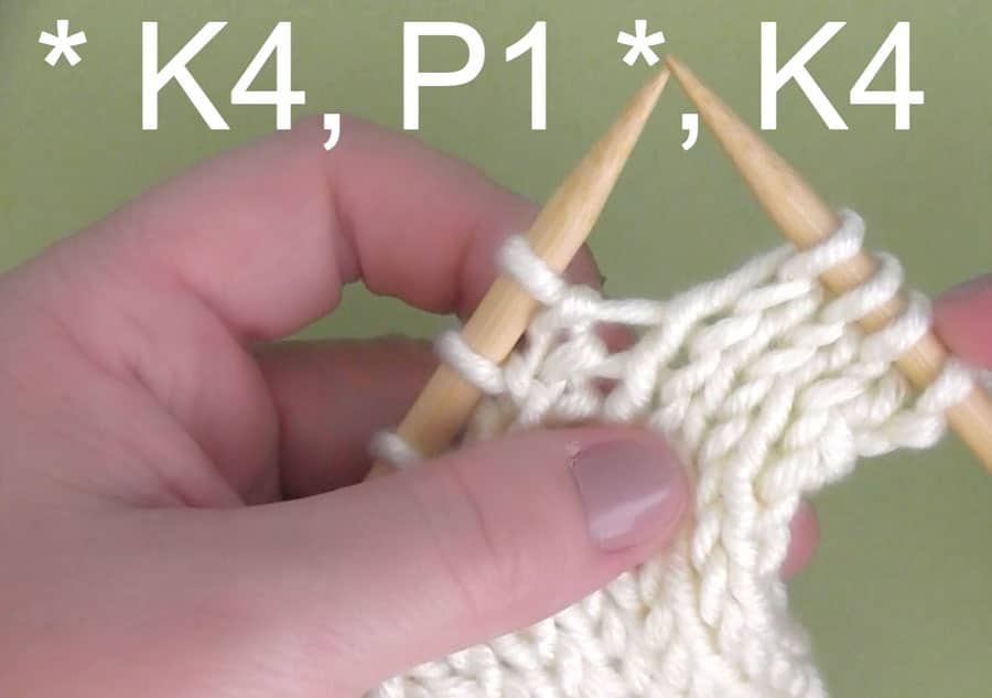 Rib Stitch Pattern to Easily Knit Vertical Stripes using a Crochet Chain with Video Tutorial by Studio Knit