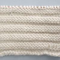 Reverse Ridge Stitch Knitting Pattern and Video Tutorial