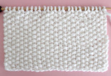 Seed Knit Stitch Pattern. Get Free Written Patterns, Charts, and Video Tutorials in the Absolute Beginner Knitting Series by Studio Knit.