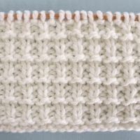 How to Knit the Hurdle Stitch Pattern