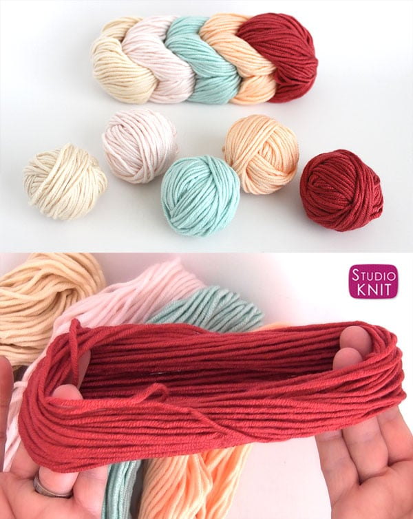 Unwinding the Caron X Pantone Yarn Links with Studio Knit