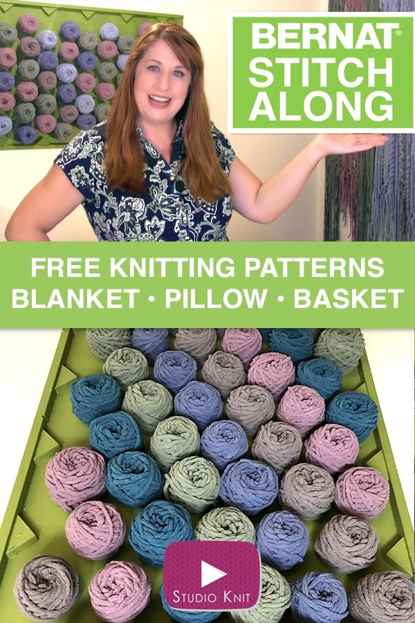 Joann Selects Studio Knit As New Bernat Stitch Along Host Studio Knit