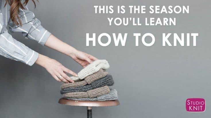 Absolute Beginner Knitting Series