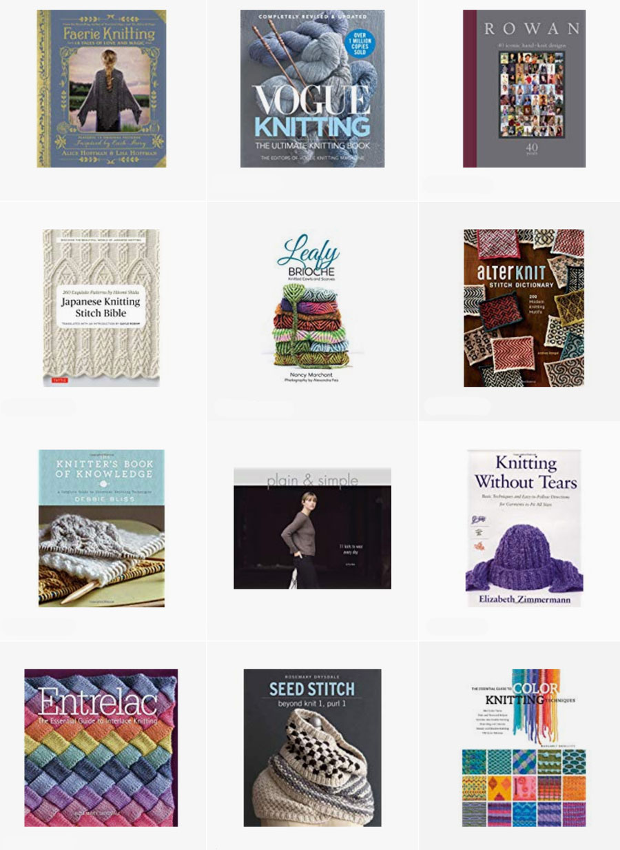 Knitting Books selected by Studio Knit on Amazon Prime