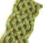 How to Knit the Celtic Cable | Saxon Braid Stitch with Free Knitting Pattern + Video Tutorial by Studio Knit