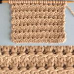 Granite Knit Stitch Pattern