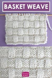 Basket Weave Stitch Pattern