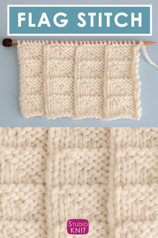 Flag Stitch Knitting Pattern