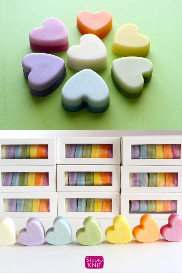 Lotion Bar Geschenkset Produkt speziell für Hersteller entwickelt.  Genießen Sie die Leichtigkeit der natürlichen Hautpflege, indem Sie feste Riegel zwischen Ihren Händen erwärmen, um sie zu erweichen und tief zu befeuchten.