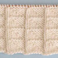 Flag Stitch Printable Knitting Pattern