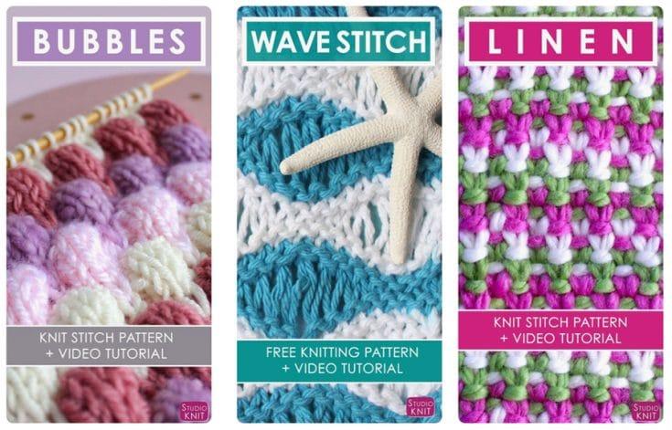Studio Knit Stitch Patterns