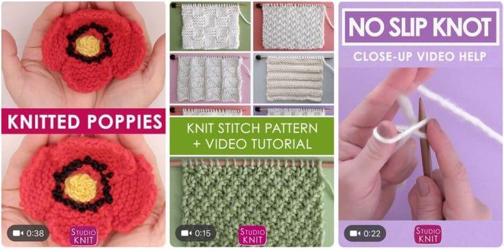 Video Tutorials from Studio Knit