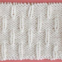 Caterpillar Stitch Printable Knitting Pattern