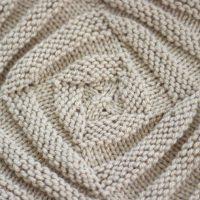 Swirly Square Stitch Knitting Pattern and Video Tutorial