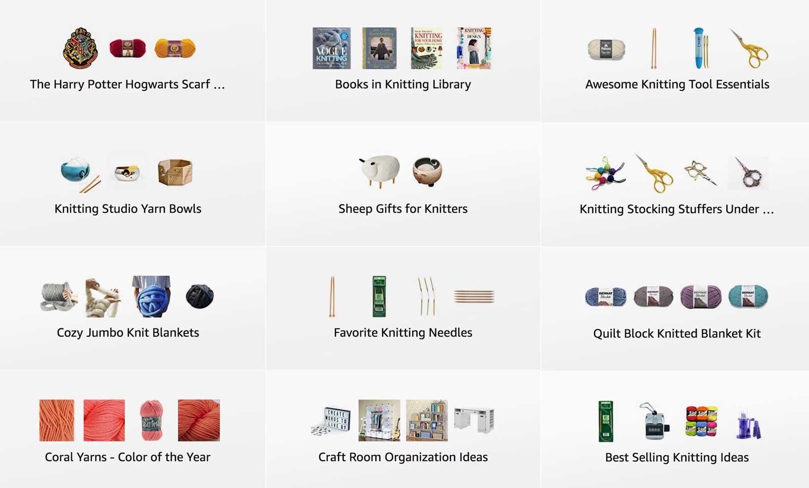 Studio Knit Amazon Shop Knitting Gift Ideas
