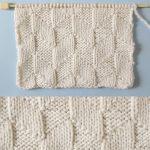 Parallelogram Stitch Knitting Pattern
