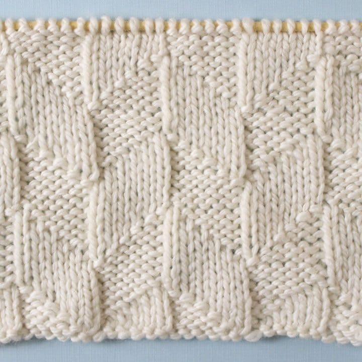Parallelogram Printable Knitting Pattern