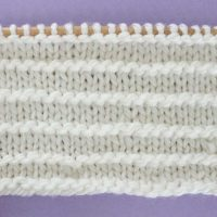 Purl Ridge Stitch Printable Knitting Pattern