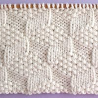 Tumbling Moss Block Printable Knitting Pattern