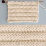 Reverse Ridge Stitch Knitting Pattern