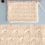 Simple Seed Stitch Knitting Pattern