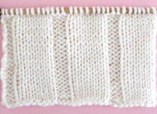 Reversible Knit Stitch Patterns Archives | Studio Knit