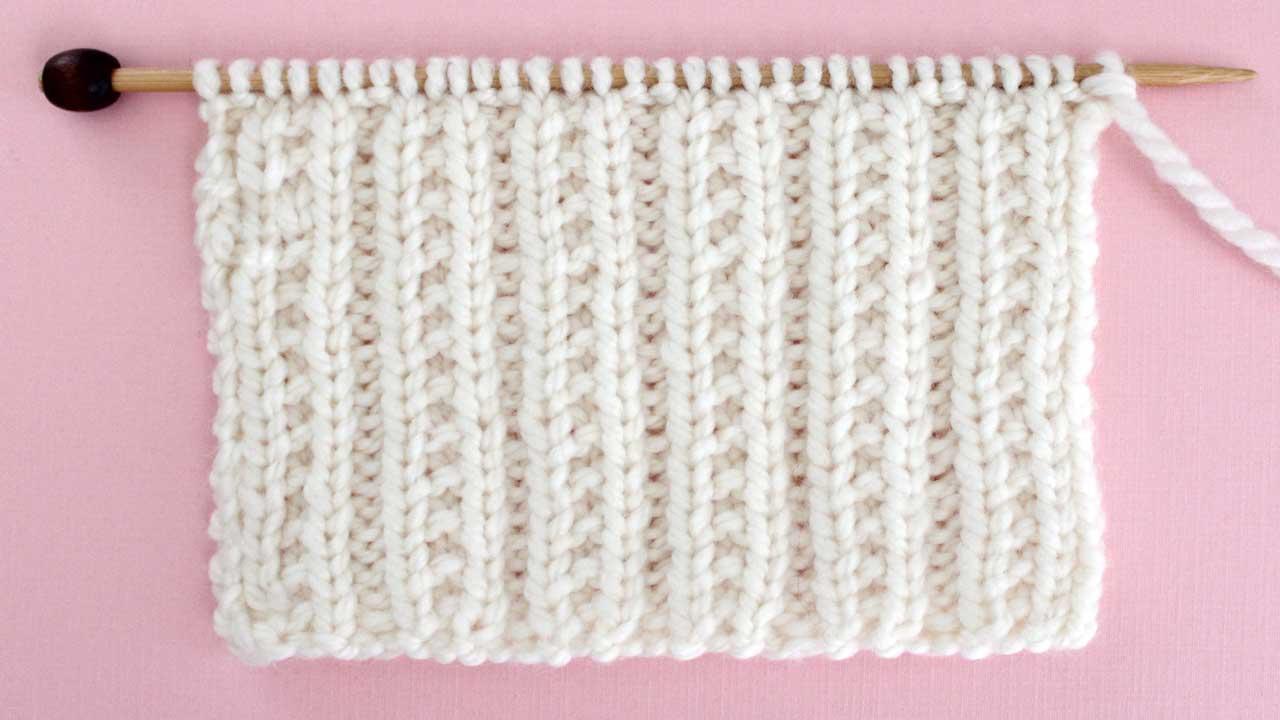 Knit Stitch Patterns for Beginning Knitters | Studio Knit