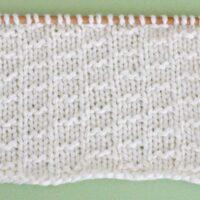 Double Fleck Stitch Printable Knitting Pattern