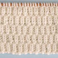 Long Raindrops Stitch Printable Knitting Pattern