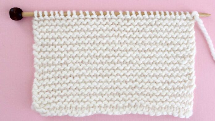 Garter Stitch Knitting Pattern