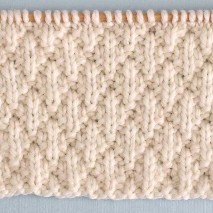 Seersucker Stitch Knit Pattern
