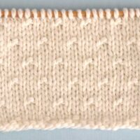 Simple Seed Stitch Printable Knitting Pattern