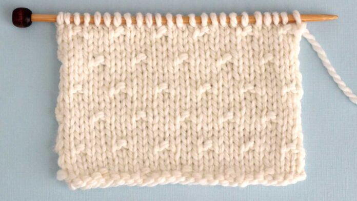 Simple Seed Stitch Knit Pattern