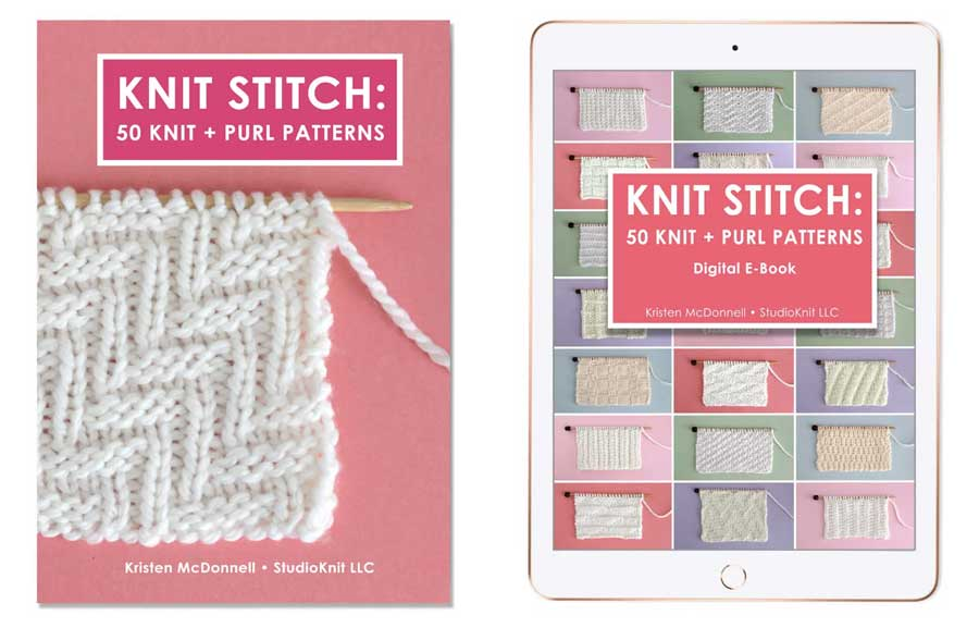 Knit Stitch: 50 Knit and Purl Pattern Books by Studio Knit