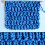 Long Raindrops Stitch Pattern