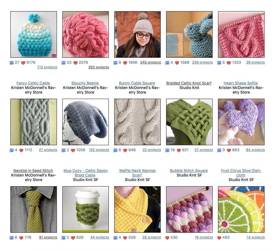 Studio Knit Patterns on Ravelry