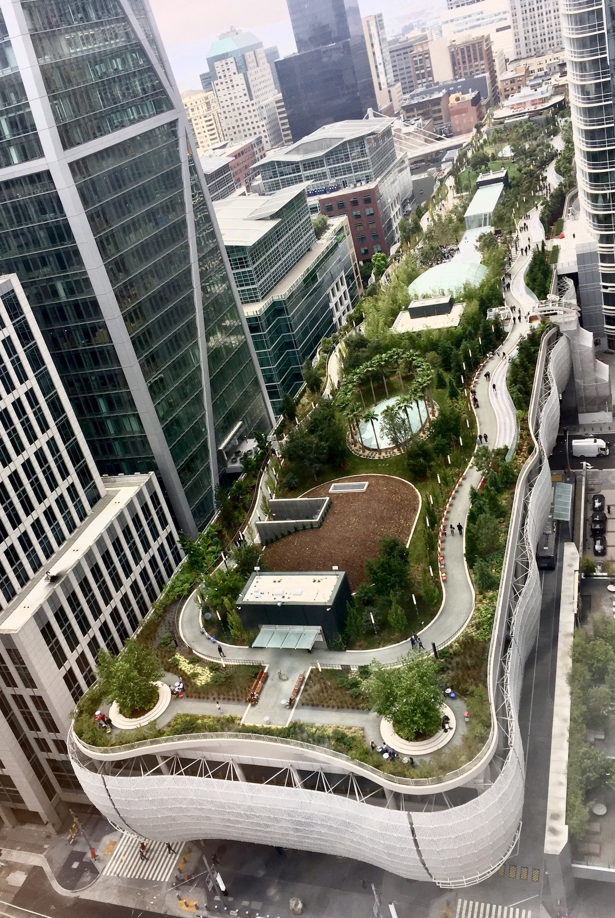 Salesforce Park in San Francisco California