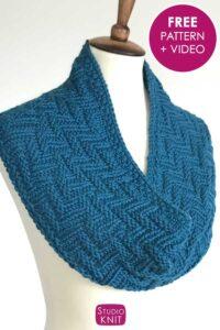 Zigzag Scarf Knitting Pattern