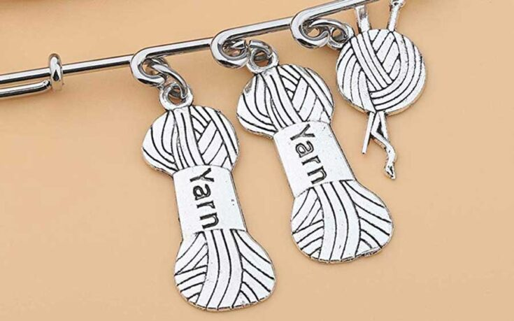 Knitting Charms and Stitch Markers