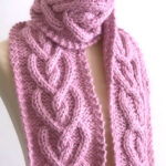 Heart Cable Knit Pattern by Studio Knit