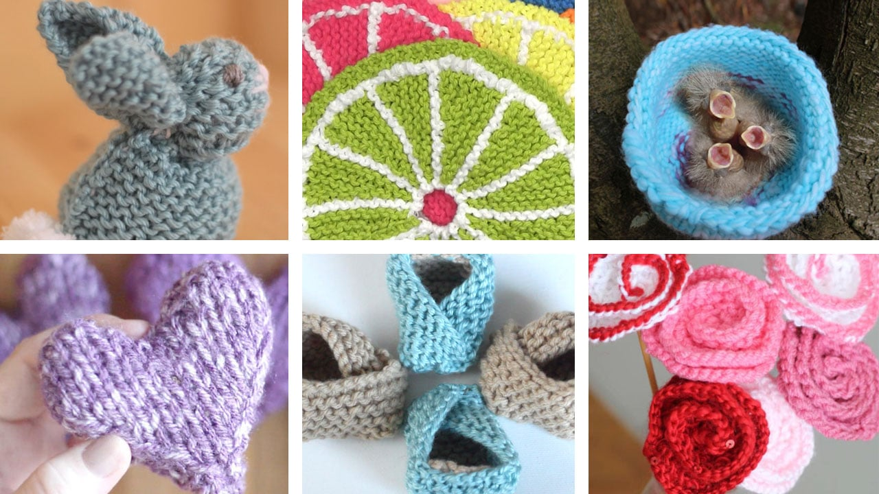 Yarn Stash Buster Patterns for Knitters
