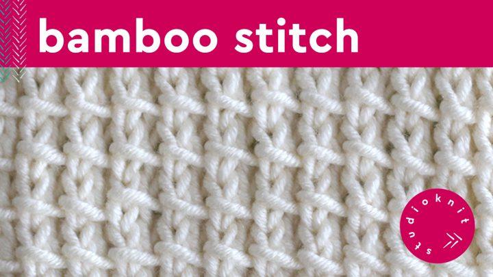 Bamboo Stitch Knitting Pattern 2-Row Repeat