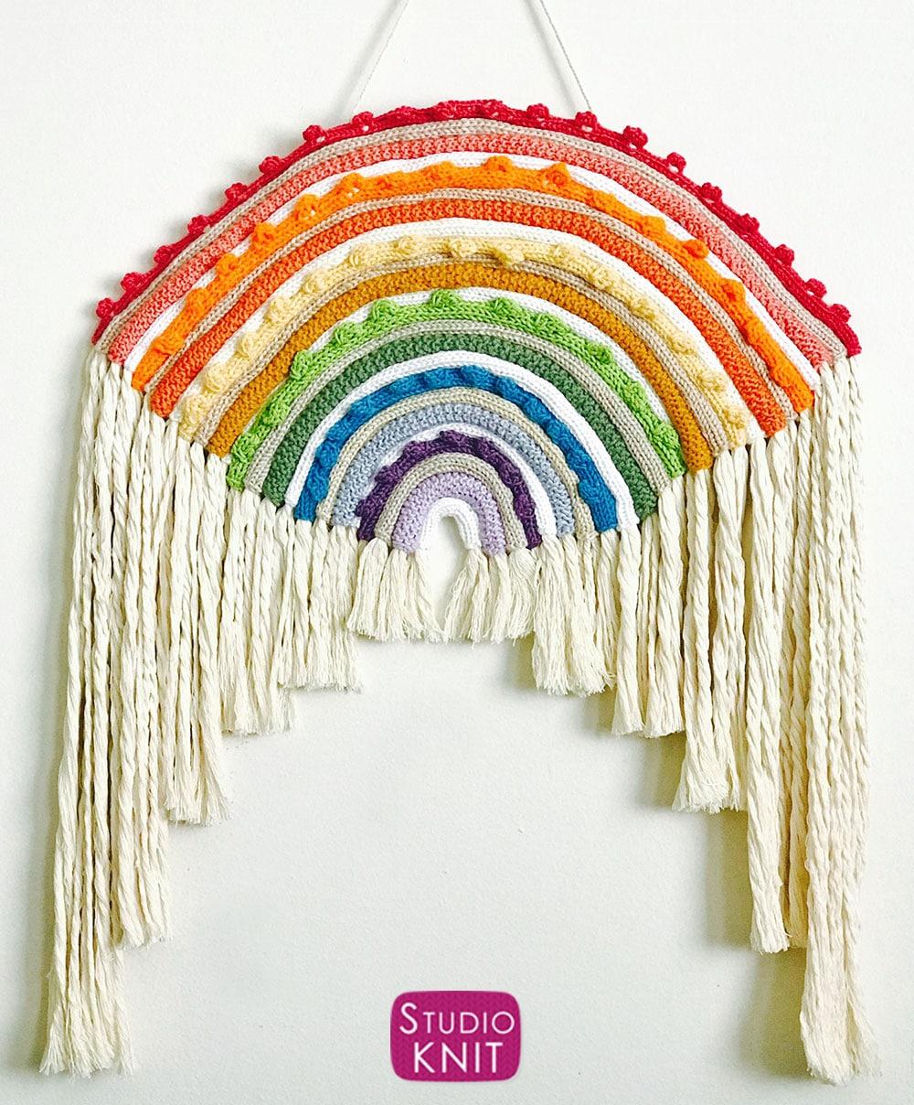 Boho Rainbow Window Hanging Large