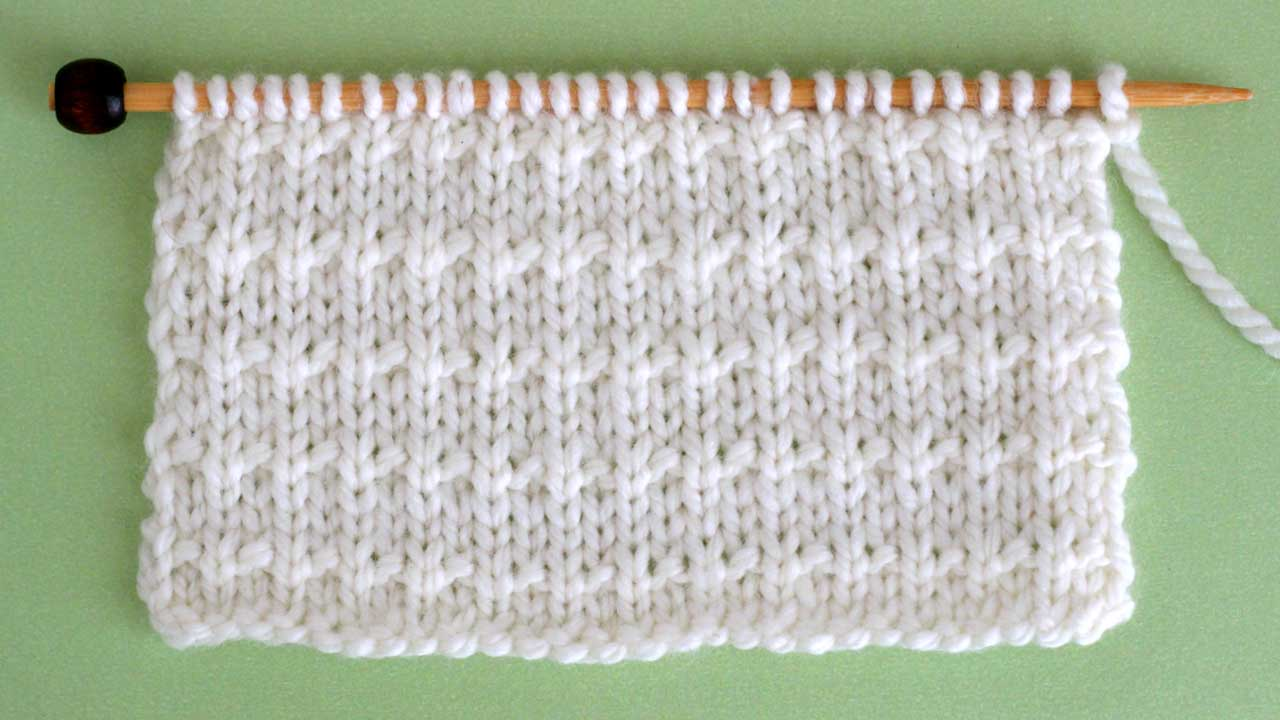 Andalusian Knit Stitch Pattern