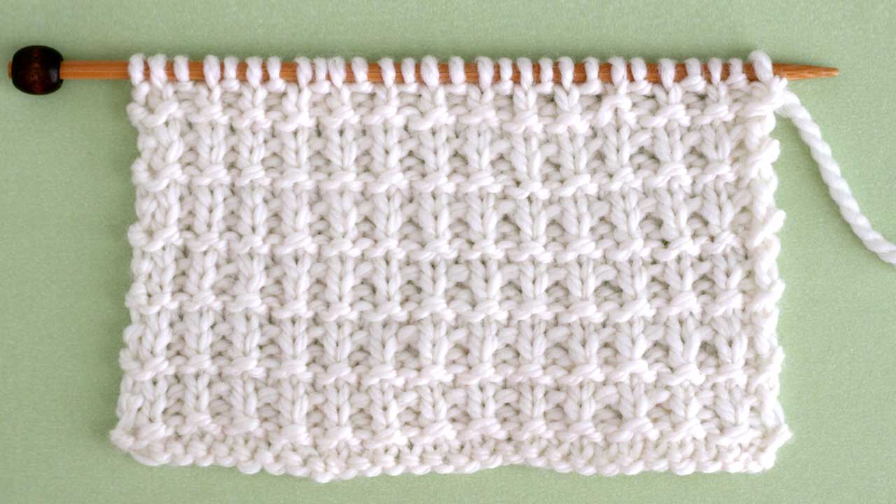 Hurdle Knit Stitch Pattern